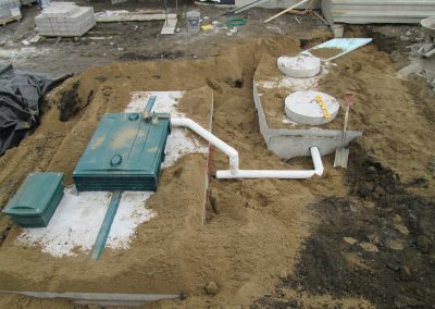 Installation septique - Excavation Laflamme et Ménard